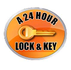 A 24 Hour Lock & Key's logo