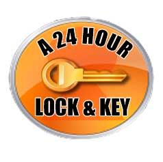 A 24 Hour Lock & Key's logo